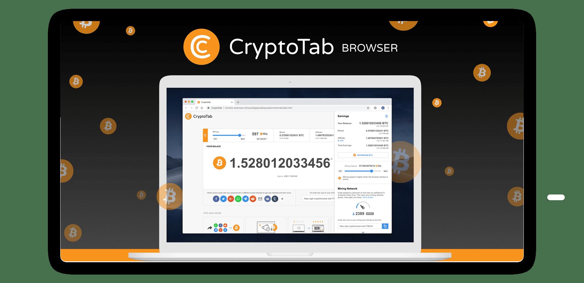 cryptotab browser bitcoin 100 miliardi di tappo del mercato